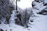 На среднем водопаде