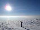 Мы выше облаков на горе Двуглавая